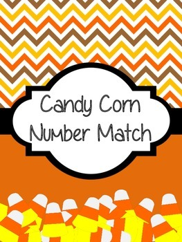 Candy Corn Number Match Game