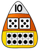 Candy Corn Number Match Puzzles 0-10
