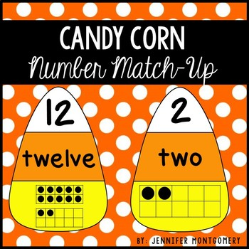 Candy Corn Number Match-Up