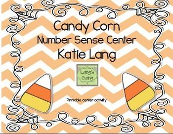Candy Corn Number Sense Center
