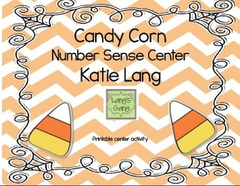 Candy Corn Number Sense Center