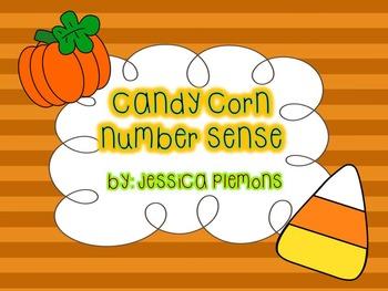 Math Center: Candy Corn Number Sense Match