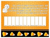 Number Sense Candy Corn Game-Number Word Edition 0-10