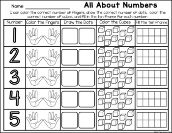 Candy Corn Numbers - Number Identification
