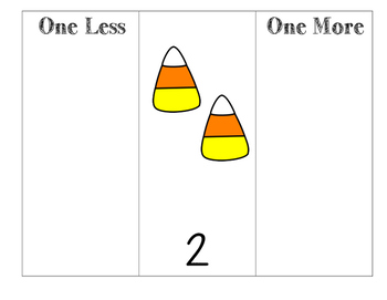 Candy Corn One More, One Less
