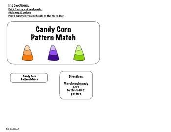 Candy Corn Pattern Match