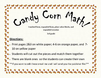 Candy Corn Place Value!