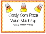 Candy Corn Place Value Match-Up