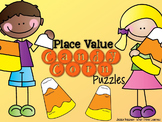 Candy Corn Place Value Student Created Math Station