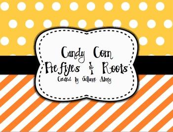 Candy Corn Prefixes & Roots