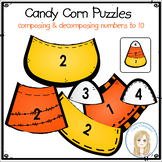 Candy Corn Math Number Puzzles: Composing & Decomposing Nu