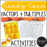 Candy Corn Puzzles | Factors and Multiples Activities