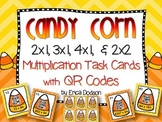 Halloween/Fall themed QR Code Task Cards for Multi-digit Multiplication
