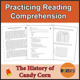 Halloween and Candy Corn Reading Comprehension