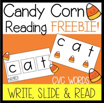 Candy Corn Reading FREEBIE!