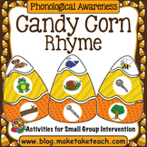 Rhyme - Candy Corn Rhyme Matching