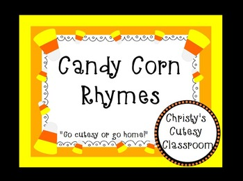 Candy Corn Rhymes