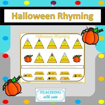Candy Corn Rhyming