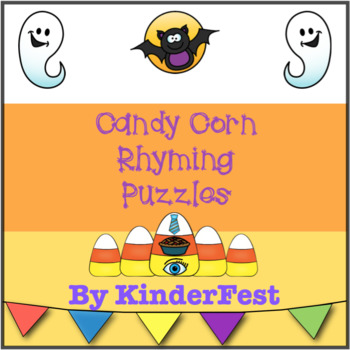 Candy Corn Rhyming Puzzles