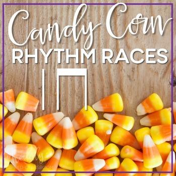 Candy Corn Rhythm Races: ta and titi