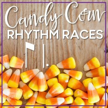 Candy Corn Rhythms: ti tam (eighth / dotted quarter)