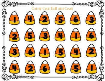 Candy Corn Roll and Cover