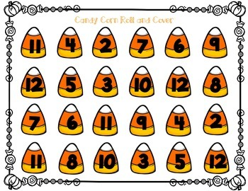 Candy Corn Roll and Cover- Addition