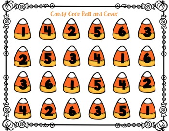 Candy Corn Roll and Cover PACK