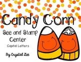 Candy Corn See and Stamp Center