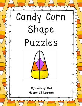 Candy Corn Shape Puzzles