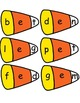 Candy Corn Short Vowel Activity Center CVC