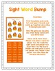 Candy Corn Sight Word Bump Game