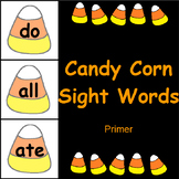 Candy Corn Sight Word Cards Primer