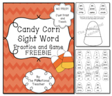 Candy Corn Sight Word Practice and Game FREEBIE