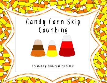 Candy Corn Skip Counting