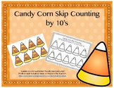 Candy Corn Skip Counting By 10's