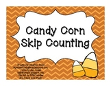 Candy Corn Skip Counting: Counting by 5s