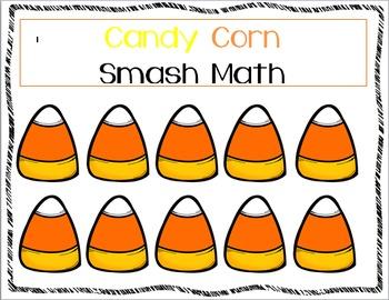 Candy Corn Smash Math Mat