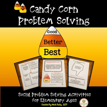 Fall Social Skills Activities Problem Solving