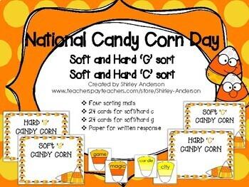 Candy Corn - Soft and Hard 'C' & Soft and Hard 'G'