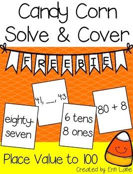 Candy Corn Solve & Cover FREEBIE!