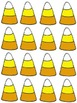 Candy Corn Sort, Graph, and Record Math Center