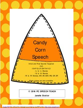 Candy Corn Speech