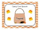 Candy Corn Speech FREEBIE!
