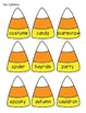 Candy Corn Syllables