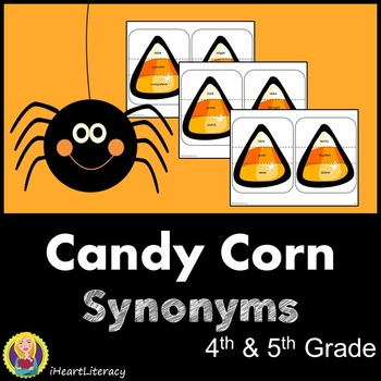 Candy Corn Synonyms - 4th & 5th Grade Common Core