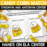 Synonyms and Antonyms Center