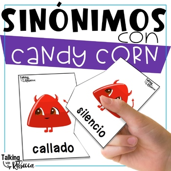Fall Halloween themed synonyms for Spanish Speech Therapy
