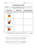 Candy Corn Tally Chart Sort