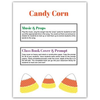 Candy Corn Teacher Packet